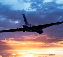 Vulcan Sunset by J Biggadike