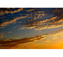 A Norfolk Sky Photographic Print