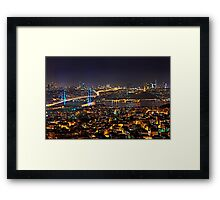 Connecting Continents Framed Print