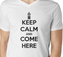 Skyrim-addicted Mens V-Neck T-Shirt