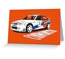 Ford Escort Cosworth WRC Greeting Card
