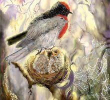 Red Robin Revelry by arlenedelahenty
