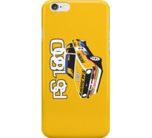 Ford Escort Mk2 Rally Car iPhone Case/Skin