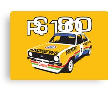 Ford Escort Mk2 Rally Car Canvas Print