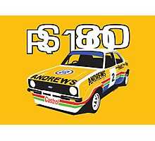Ford Escort Mk2 Rally Car Photographic Print