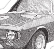 Alfa Romeo GT 1300 junior   Sticker