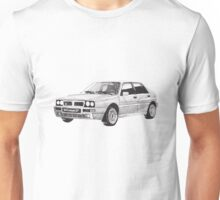 Lancia Delta Integrale HF   Unisex T-Shirt