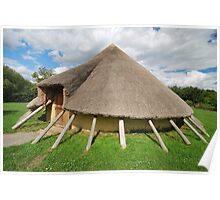 Iron Age House Hadleigh Poster