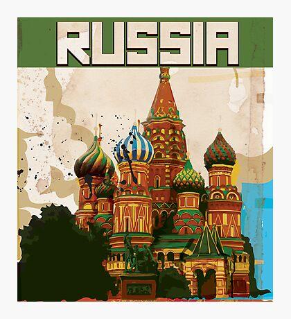Russia Photographic Print