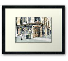 Abbotsford Bar and Restaurant Framed Print