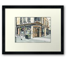 Abbotsford Bar and Restaurant Framed Print