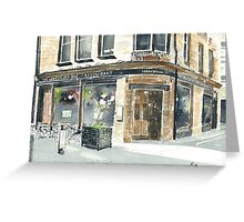 Abbotsford Bar and Restaurant Greeting Card