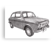 Fiat 850 Canvas Print