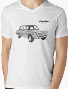Lada 1500 Mens V-Neck T-Shirt