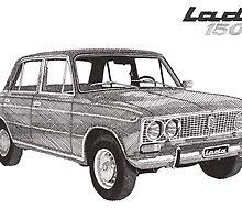 Lada 1500 by RikReimert