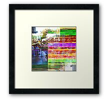 What does a visual term for distillation sound as? Framed Print