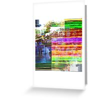 What does a visual term for distillation sound as? Greeting Card