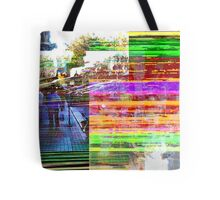What does a visual term for distillation sound as? Tote Bag