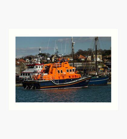 Lifeboat Annette Hutton Art Print