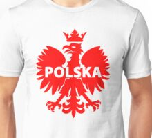 Poland Polska Crowned Eagle T-Shirt and Stickers Unisex T-Shirt