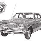 Volga GAZ-24 by RikReimert