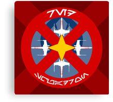 Red Squadron - Insignia Series Canvas Print