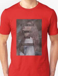 Society Killed the Teenager Unisex T-Shirt