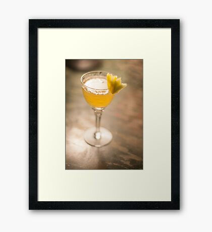 Queens Cocktail Framed Print