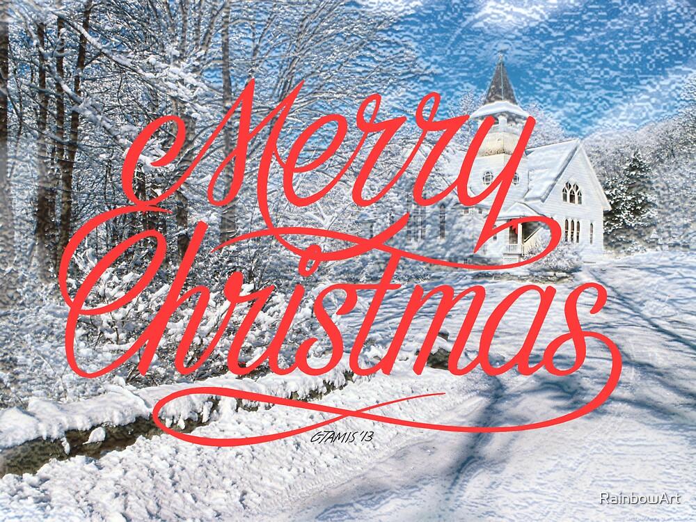 MERRY CHRISTMAS by RainbowArt