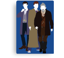 The Day of the Doctor - Doctor Who Canvas Print