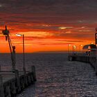 Sunrise at Kingscote Jetty by Dean Wiles