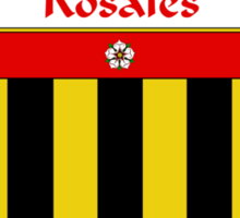 Rosales Coat of Arms/Family Crest Sticker