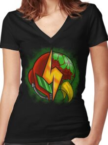 Eternal hunter Women's Fitted V-Neck T-Shirt