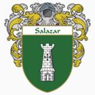 Salazar Coat of Arms/Family Crest by William Martin