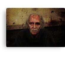 Zombie John Carpenter Canvas Print