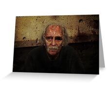Zombie John Carpenter Greeting Card