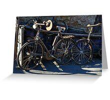 Vintage Bicycles Greeting Card