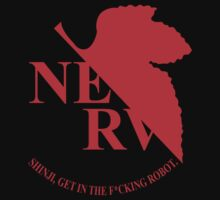 Evangelion NERV Tee by Lee Seymour