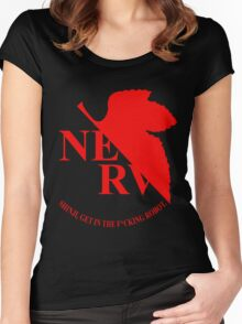 Evangelion NERV Tee Women's Fitted Scoop T-Shirt