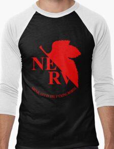 Evangelion NERV Tee Men's Baseball ¾ T-Shirt