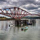 The Bridge from North Queensferry Bay by Tom Gomez