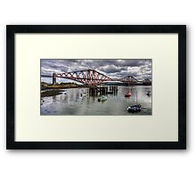 The Bridge from North Queensferry Bay Framed Print