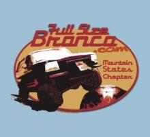 Ford Bronco Full Size Mountain States 4x4 fullsizebronco.com One Piece - Short Sleeve