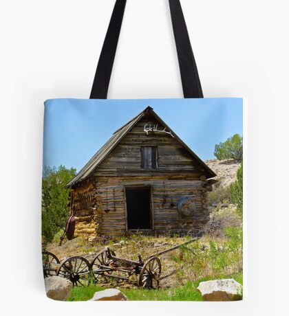 Historic Cabin Tote Bag