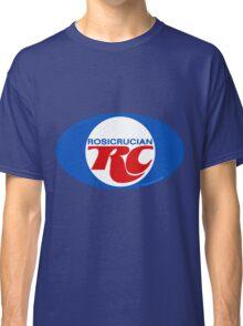 Rosicrucian RC Royal Crown Cola Logo Retro Vintage Classic T-Shirt