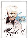 Happy Birthday Mandela by Ludwig Wagner