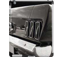 The Back (black&white) iPad Case/Skin