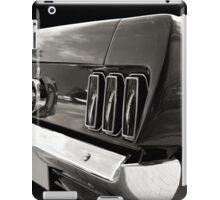 The Back (black&white) iPad Case/Skin