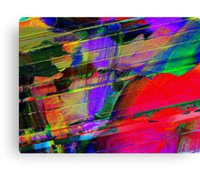 Brush Strokes Canvas Print