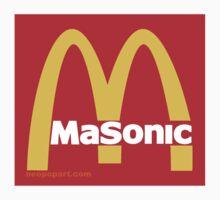Masonic Freemason McDonald's Esoteric Symbol by neoPOPart